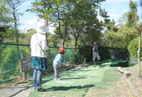 ベビーゴルフ場(パターゴルフ)