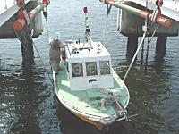レスキュー艇(あゆち号)