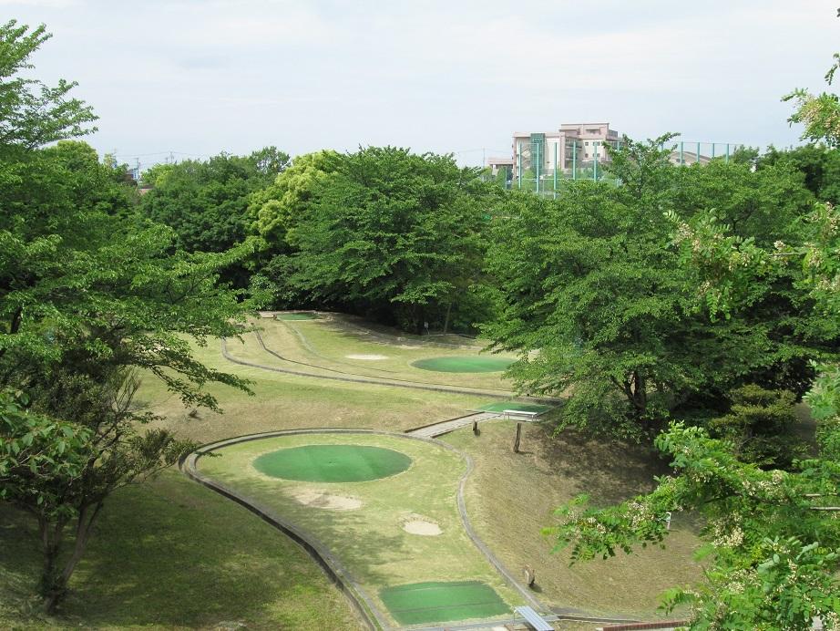 ベビーゴルフ場