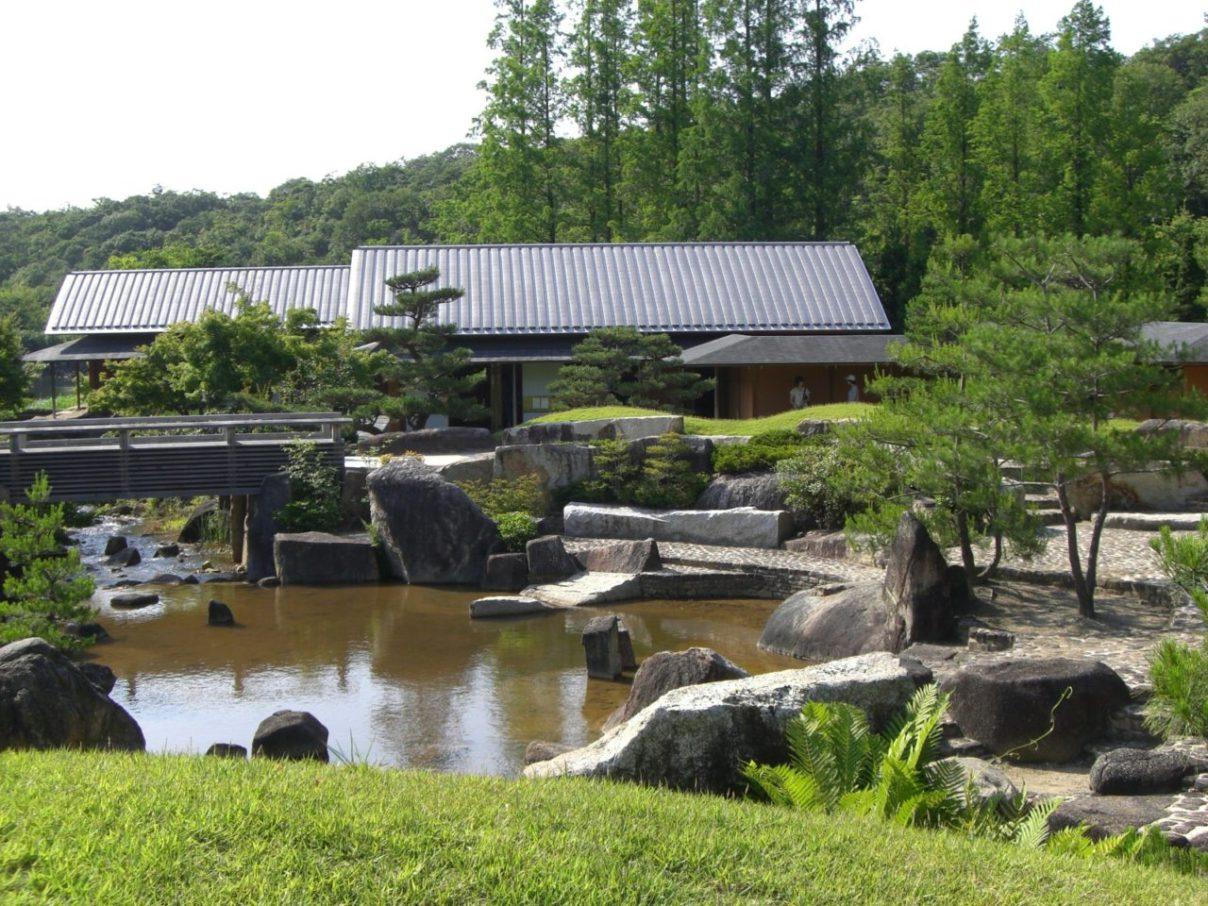 モリコロパーク日本庭園
