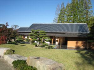 モリコロパーク日本庭園茶室