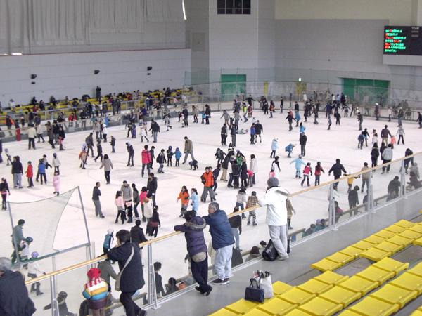 モリコロパークアイススケート場