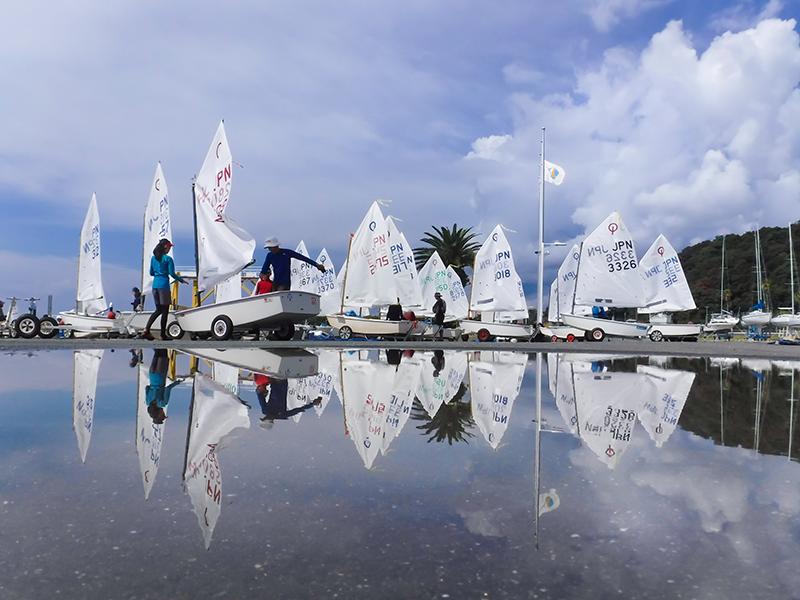 第11回 ふれあい百景フォトコンテスト豊田自動織機 海陽ヨットハーバー 優秀賞『雨上がりのハーバー』