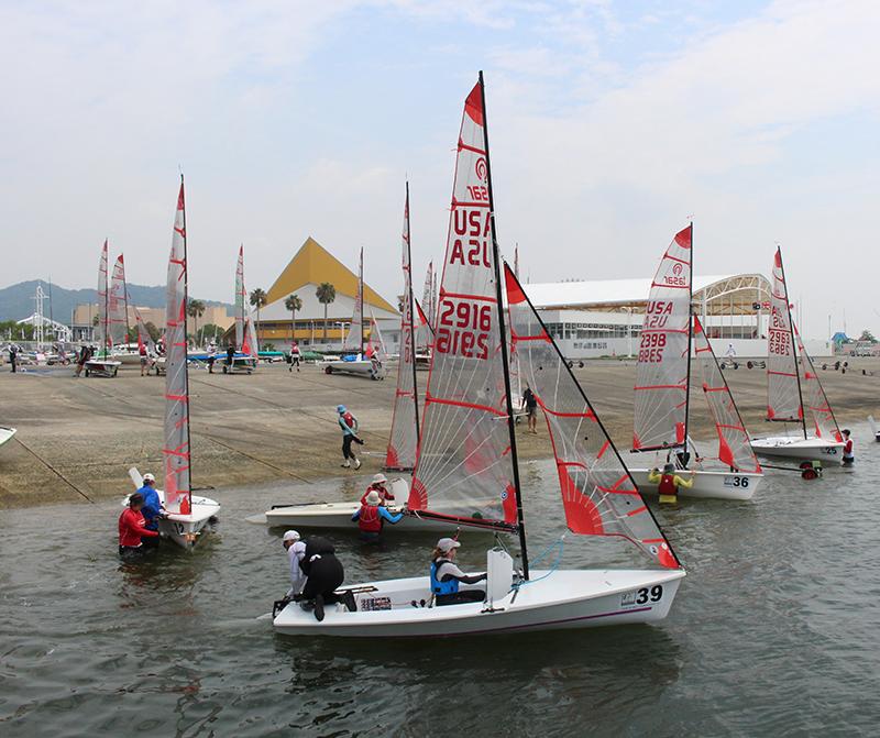 第11回 ふれあい百景フォトコンテスト豊田自動織機 海陽ヨットハーバー キリンビバレッジ賞『ヨット出艇』