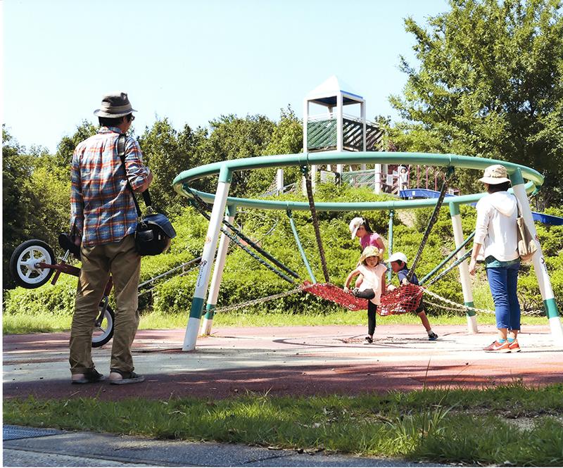 第11回 ふれあい百景フォトコンテスト小幡緑地 入選『家族の輪』