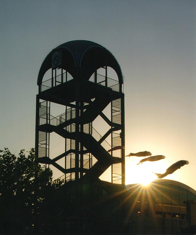 第11回 ふれあい百景フォトコンテスト尾張広域緑道 入選『夕暮れのフレッシュパーク』