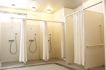 海陽ヨットハーバーシャワー室